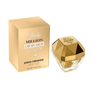 Paco Rabanne Lady Million Eau My Gold Women's 1-ounce Eau de Toilette Spray