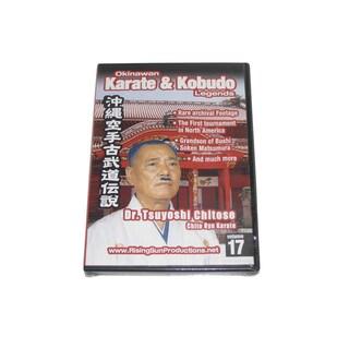 Okinawan Chito Ryu Karate Kobudo Legends #17 DVD Tsuyoshi Chitose #RS0623