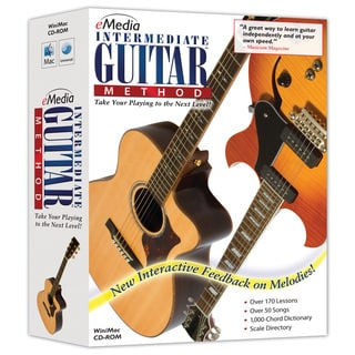eMedia Intermediate Guitar Method Version 3.0 (Windows/ Mac)