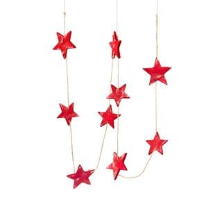 "Classic Christmas Collection 72"" Star Garland Pack of 6"