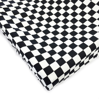 One Grace Place Teyo's Tires Checkers Changing Pad Cover