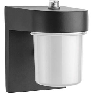 Lithonia Lighting OSC LED 120 PE BL M4 LED Black Entry Light