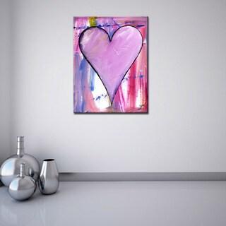 "Ready2HangArt Zane Heartwork ""Zinnia"" Canvas Art Set"