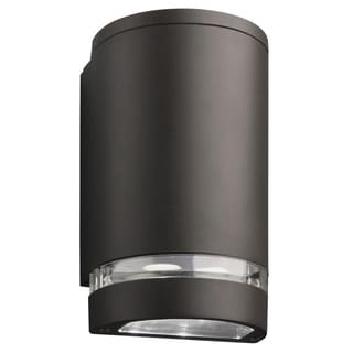 Lithonia Lighting OLLWD DDB M6 Outdoor Black Bronze LED Wall Cylinder Light