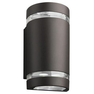Lithonia Lighting OLLWU DDB M6 Outdoor Black Bronze LED Wall Cylinder Light
