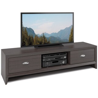 CorLiving TLK-871-B Lakewood TV Bench in Modern Wenge Finish