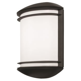 Lithonia Lighting OLCS 8 DDB M4 LED Outdoor Black Bronze Wall Sconce