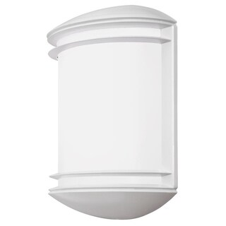 Lithonia Lighting OLCS 8 WH M4 LED Outdoor White Wall Sconce