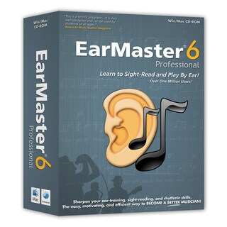 EarMaster 6 Professional (Windows)