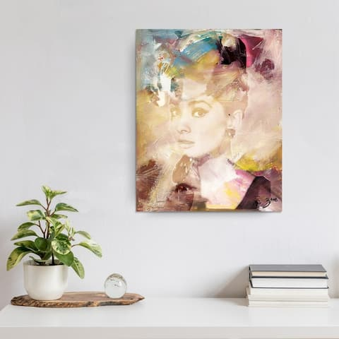 Abstract X Abstract Fashion Wrapped Canvas Wall Art