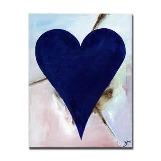 Felipe' Heartwork Wrapped Canvas Wall Art