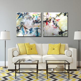 Ready2HangArt Zane 'Abstract XIII' Canvas Wall Art