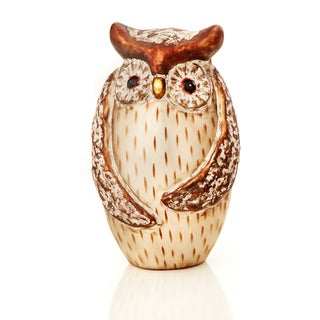 """Lodge Collection 5.75"""" Standing Owl Tabletop Pack of 3"""