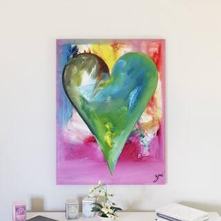 Porch & Den Zane Heartwork Anna Canvas Art Set