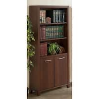 Bush Furniture Achieve Bookcase with Doors