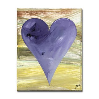 Christian' Heartwork Wrapped Canvas Wall Art