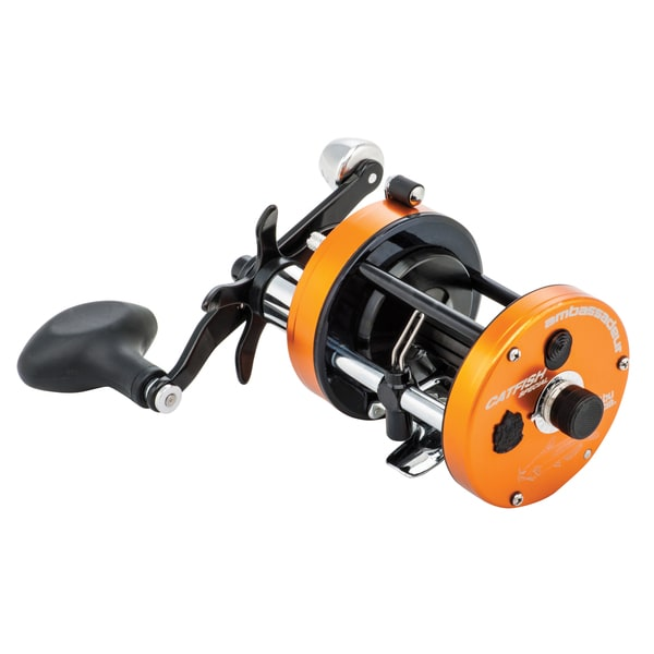 Abu Garcia C3 Catfish Special Round Reel 7000 4.1:1 Gear Ratio 3 Bearings 20 lb Max Drag Right Hand