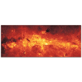 Eric Waddington 'Galactic Center' Reverse-Print Acrylic Outer Space Art
