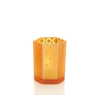 "Modern Opulence Collection 4"" Hex Starburst Candle Holder Pack of 6"