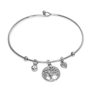 Eternally Haute Tree of Life Heart Charm Bangle|https://ak1.ostkcdn.com/images/products/10837312/P17879189.jpg?impolicy=medium