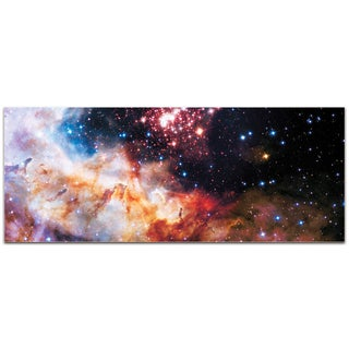 Eric Waddington 'Celestial Fireworks' Reverse-Print Acrylic Hubble Telescope Art