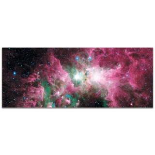Eric Waddington 'Carina Nebula' Reverse-Print Acrylic Stars Art