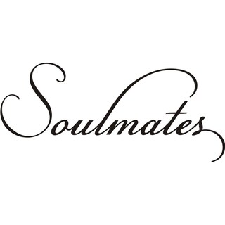 Design on Style 'Soulmates' Vinyl Wall Art Lettering Decor Mural