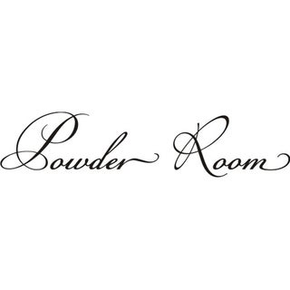 Design on Style 'Powder Room' Vinyl Wall Art Lettering Decor Mural