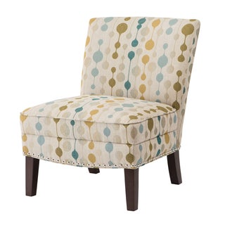 Madison Park Alex Curved Back Slipper Accent Chair