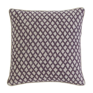 Signature Design by Ashley Stitched Plum 20-inch Pillow Cover