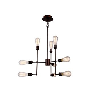 Elegant Lighting Ophelia Collection 1139 Pendant Lamp with Cocoa Brown Finish