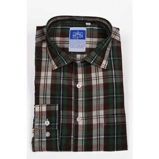 Complicated Shirts Men's Green Plaid Shirt