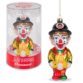 J.P Patches Ornament Christmas Tree Clown TV Series Adult Child Accessory