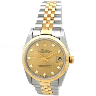 Pre-owned Rolex Midsize Datejust Watch