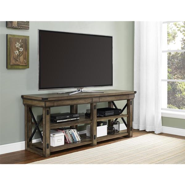Altra Wildwood Rustic Grey 65 Inch TV Stand