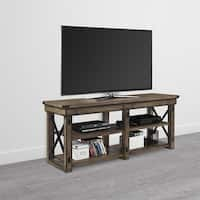 Avenue Greene Woodgate Wood Veneer TV Stand for TVs up to 65 inches