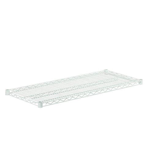 Honey Can Do steel shelf-800lbswhite 18x42