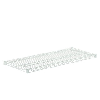 Honey Can Do steel shelf-800lbswhite 18x42