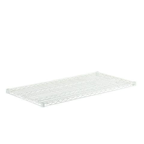 Honey Can Do steel shelf-800 lbs white 24x48