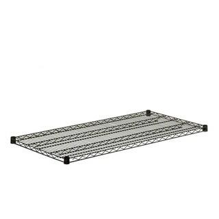 steel shelf-800lbs black 18x48