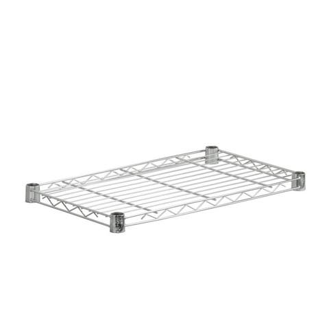 Honey-Can-Do steel shelf- 250 lbs chrome 14x24