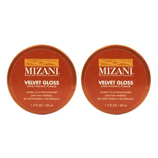 Mizani Velvet Gloss Shine 1.7-ounce Finishing Pomade (Pack of 2)