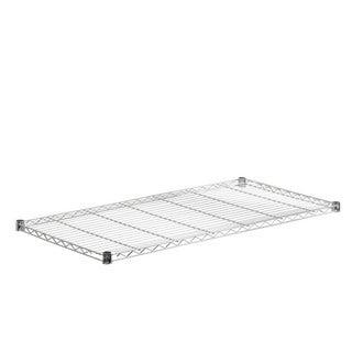 Honey-Can-Do steel shelf-350 lbs chrome 18x48