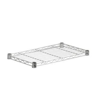 steel shelf-350 lbs chrome 14x24
