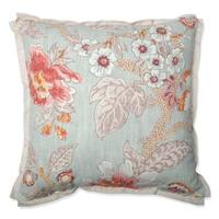 Pillow Perfect Room With A View Cerulean Throw Pillow