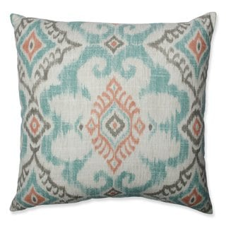 Pillow Perfect Kantha Surf Throw Pillow