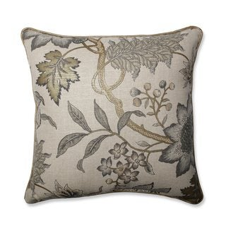 Pillow Perfect Jacobean Flair Vermeil Throw Pillow