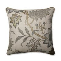 Pillow Perfect Jacobean Flair Vermeil Throw Pillow