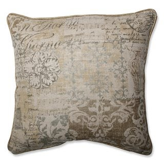 Pillow Perfect Documented Vermeil Throw Pillow