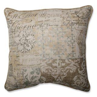 Pillow Perfect Documented Vermeil Throw Pillow
